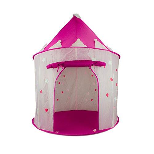 Fox Print Princess Castle Play Tent ...  sc 1 st  ToyAdvisory & Fox Print Princess Castle Play Tent with Glow in the Dark Stars ...