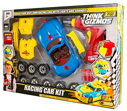 how to build a car for kids